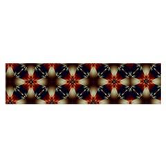 Kaleidoscope Image Background Satin Scarf (Oblong)
