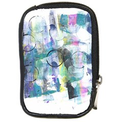 Background Color Circle Pattern Compact Camera Cases