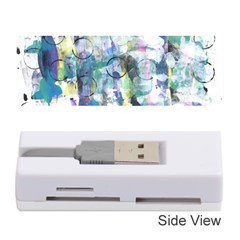 Background Color Circle Pattern Memory Card Reader (Stick)