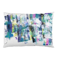 Background Color Circle Pattern Pillow Case (two Sides)