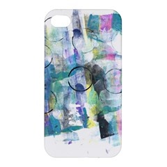 Background Color Circle Pattern Apple Iphone 4/4s Hardshell Case