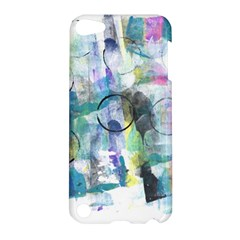 Background Color Circle Pattern Apple iPod Touch 5 Hardshell Case