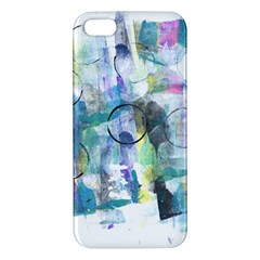 Background Color Circle Pattern Apple Iphone 5 Premium Hardshell Case