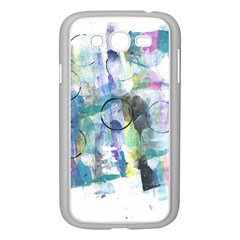 Background Color Circle Pattern Samsung Galaxy Grand Duos I9082 Case (white)