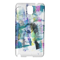 Background Color Circle Pattern Samsung Galaxy Note 3 N9005 Hardshell Case