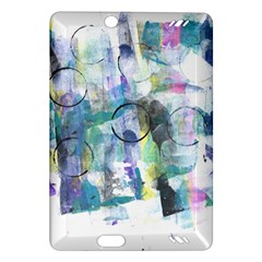 Background Color Circle Pattern Amazon Kindle Fire Hd (2013) Hardshell Case
