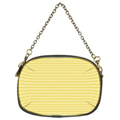 Pattern Yellow Heart Heart Pattern Chain Purses (Two Sides)