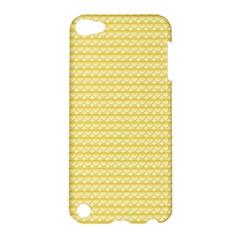 Pattern Yellow Heart Heart Pattern Apple Ipod Touch 5 Hardshell Case
