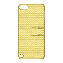 Pattern Yellow Heart Heart Pattern Apple iPod Touch 5 Hardshell Case with Stand