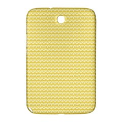 Pattern Yellow Heart Heart Pattern Samsung Galaxy Note 8 0 N5100 Hardshell Case