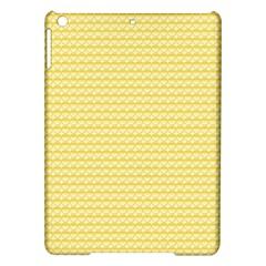 Pattern Yellow Heart Heart Pattern Ipad Air Hardshell Cases