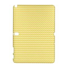 Pattern Yellow Heart Heart Pattern Galaxy Note 1