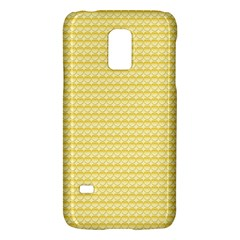 Pattern Yellow Heart Heart Pattern Galaxy S5 Mini