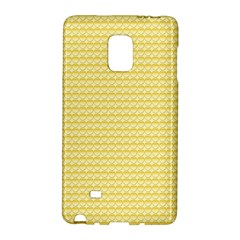 Pattern Yellow Heart Heart Pattern Galaxy Note Edge