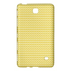 Pattern Yellow Heart Heart Pattern Samsung Galaxy Tab 4 (7 ) Hardshell Case