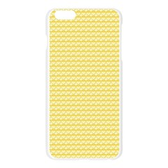 Pattern Yellow Heart Heart Pattern Apple Seamless iPhone 6 Plus/6S Plus Case (Transparent)