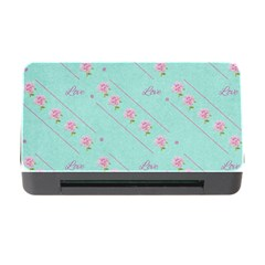 Flower Pink Love Background Texture Memory Card Reader with CF