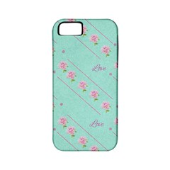Flower Pink Love Background Texture Apple iPhone 5 Classic Hardshell Case (PC+Silicone)