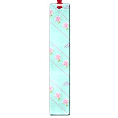 Flower Pink Love Background Texture Large Book Marks
