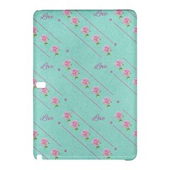 Flower Pink Love Background Texture Samsung Galaxy Tab Pro 10 1 Hardshell Case