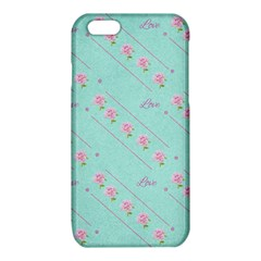 Flower Pink Love Background Texture iPhone 6/6S TPU Case