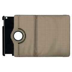 Pattern Background Stripes Karos Apple Ipad 3/4 Flip 360 Case