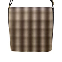 Pattern Background Stripes Karos Flap Messenger Bag (l)
