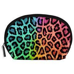 Leopard Rainbow Bg Accessory Pouches (Large)