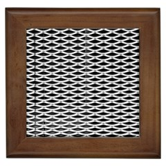 Expanded Metal Facade Background Framed Tiles