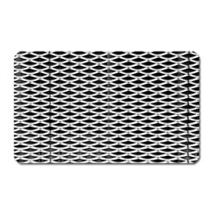 Expanded Metal Facade Background Magnet (Rectangular)