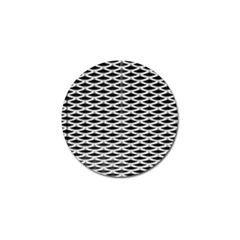 Expanded Metal Facade Background Golf Ball Marker