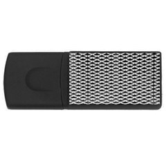 Expanded Metal Facade Background USB Flash Drive Rectangular (2 GB)