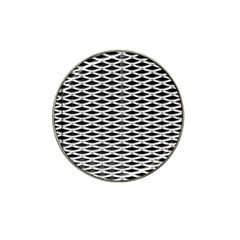 Expanded Metal Facade Background Hat Clip Ball Marker (4 Pack)