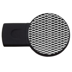 Expanded Metal Facade Background USB Flash Drive Round (4 GB)