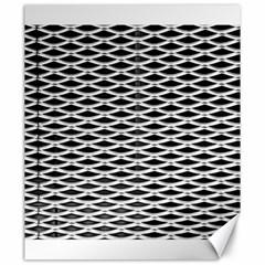 Expanded Metal Facade Background Canvas 20  x 24