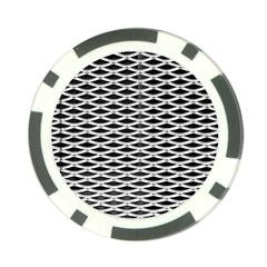 Expanded Metal Facade Background Poker Chip Card Guard