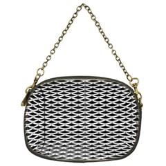 Expanded Metal Facade Background Chain Purses (one Side)