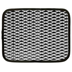 Expanded Metal Facade Background Netbook Case (xxl)