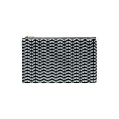 Expanded Metal Facade Background Cosmetic Bag (Small)