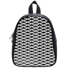 Expanded Metal Facade Background School Bags (small)