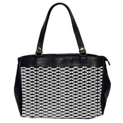 Expanded Metal Facade Background Office Handbags (2 Sides)