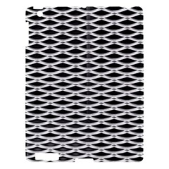 Expanded Metal Facade Background Apple iPad 3/4 Hardshell Case