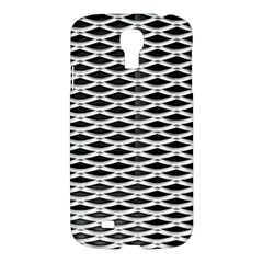 Expanded Metal Facade Background Samsung Galaxy S4 I9500/I9505 Hardshell Case