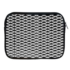 Expanded Metal Facade Background Apple Ipad 2/3/4 Zipper Cases