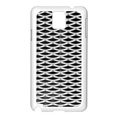 Expanded Metal Facade Background Samsung Galaxy Note 3 N9005 Case (white)