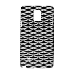 Expanded Metal Facade Background Samsung Galaxy Note 4 Hardshell Case