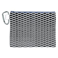 Expanded Metal Facade Background Canvas Cosmetic Bag (XXL)