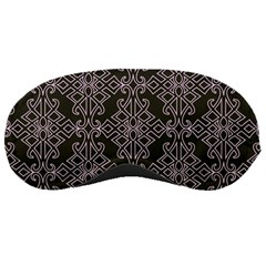 Line Geometry Pattern Geometric Sleeping Masks