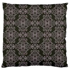Line Geometry Pattern Geometric Large Cushion Case (two Sides)