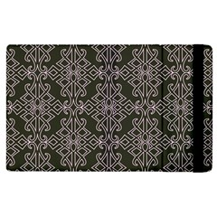 Line Geometry Pattern Geometric Apple iPad 2 Flip Case